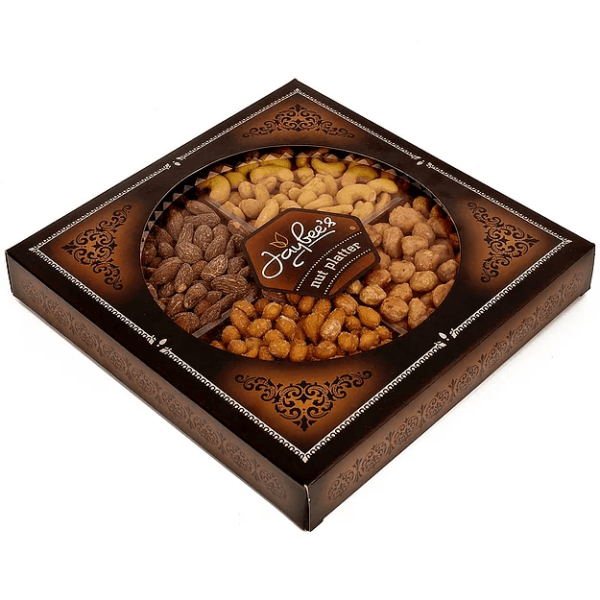 Nuts Gift Basket (4 Section)